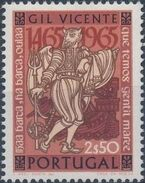 Portugal 1965 500th Birthday of Gil Vicente c