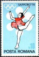 Romania 1971 Olympic Games Sapporo' 72 a