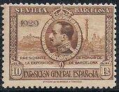 Spain 1929 Seville-Barcelona Exposition m