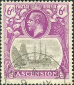 Ascension 1924 Seal of the Colony hc