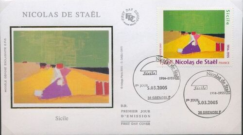 France 2005 Paintings - Nicolas de Staël FDCa