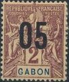 Gabon 1912 Navigation and Commerce Surcharged a.jpg