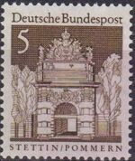 Germany, Federal Republic 1966 Building Structures from Twelve Centuries (1st Group) a
