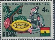 Ghana 1968 Ghana's Cocoa Production b