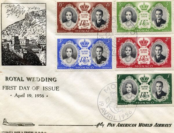 Monaco 1956 Wedding of Prince Rainier III & Grace Kelly hb