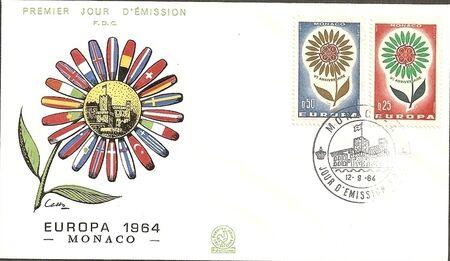 Monaco 1964 Europa p