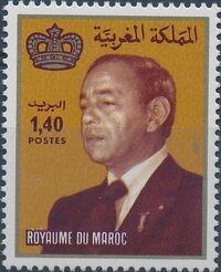 Morocco 1983 King Hassan II b