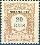 Mozambique 1904 Postage Due Stamps c