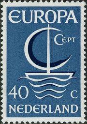 Netherlands 1966 Europa b