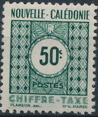 New Caledonia 1948 Numerals (Official Stamps) c