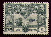 Portugal 1923 First flight Lisbon Brazil p