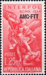 Trieste-Zone A 1954 23rd General Assembly of the International Criminal Police a
