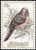 Aitutaki 1984 Local Birds (2nd Group) c