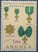 Angola 1967 Portuguese Civil and Military Orders c