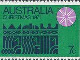 Australia 1971 Christmas
