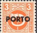 Austria 1946 Occupation Stamps of the Allied Military Government Overprinted in Black