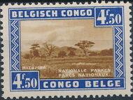 Belgian Congo 1938 International Congress of Tourism - National Parks f