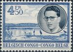 Belgian Congo 1955 King Baudouin First Trip to Congo g