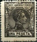 Elobey, Annobon and Corisco 1907 King Alfonso XIII k