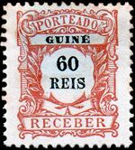 Guinea, Portuguese 1904 Postage Due Stamps f