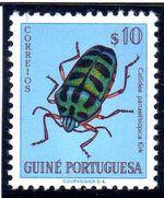 Guinea, Portuguese 1953 Guinea Insects b