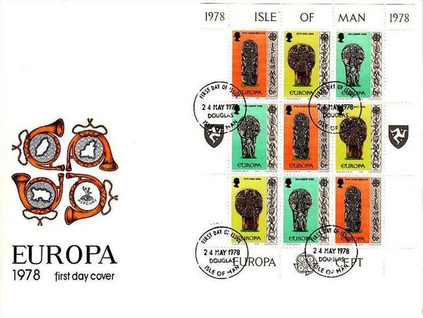 Isle of Man 1978 Europa p