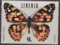 Liberia 1974 Tropical Butterflies f