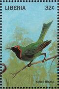 Liberia 1998 Birds of the World f