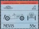 Nevis 1984 Leaders of the World - Auto 100 (1st Group) s