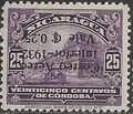Nicaragua 1932 Stamps of 1914-1932 Surcharged in Black j1.jpg