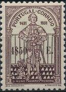 Portugal 1931 5th Centenary of the Death of St. Nuno Álvares Pereira f