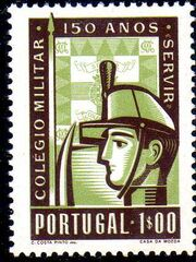 Portugal 1954 150th Anniversary of Military College a