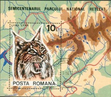 Romania 1985 Retezat National Park, 50th Anniversary g