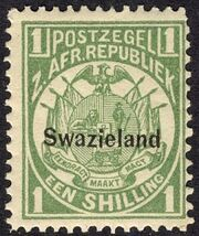 Swaziland 1889 Coat of Arms n