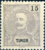Timor 1903 D. Carlos I - New Values and Colors h