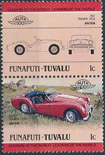 Tuvalu-Funafuti 1984 Leaders of the World - Auto 100 (1st Group) a