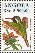Angola 1996 Hummingbirds e