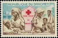 Dahomey 1962 Red Cross c