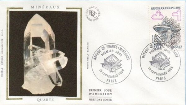 France 1986 Minerals FDCb