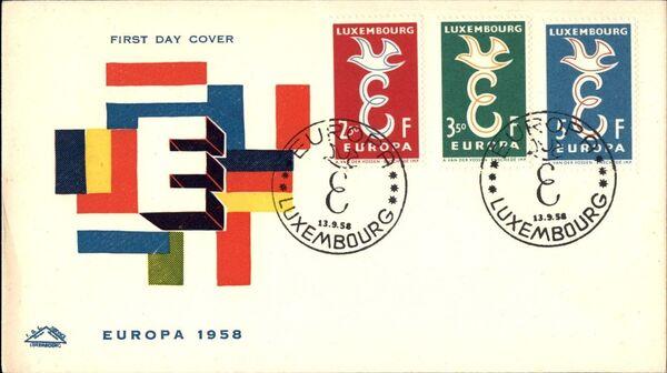Luxembourg 1958 Europa k