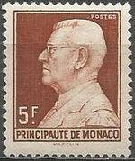 Monaco 1948 Prince Louis II of Monaco (1870-1949) b