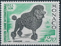 Monaco 1987 International Dog Show, Monte Carlo b