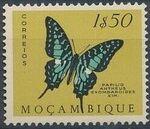 Mozambique 1953 Butterflies and Moths i