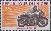 Niger 1976 Motorcycles c
