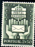 Portugal 1949 75th anniversary of the UPU c
