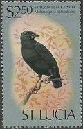 St Lucia 1976 Birds n
