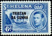 Tristan da Cunha 1952 Stamps of St. Helena Overprinted g