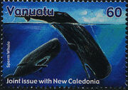 Vanuatu 2001 Whales - Joint Issue with New Caledonia a