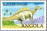 Angola 1998 Prehistoric Animals (3rd Group) b