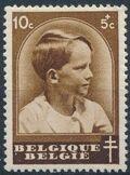 Belgium 1936 National Anti-Tuberculosis Society - Prince Boudewijn a